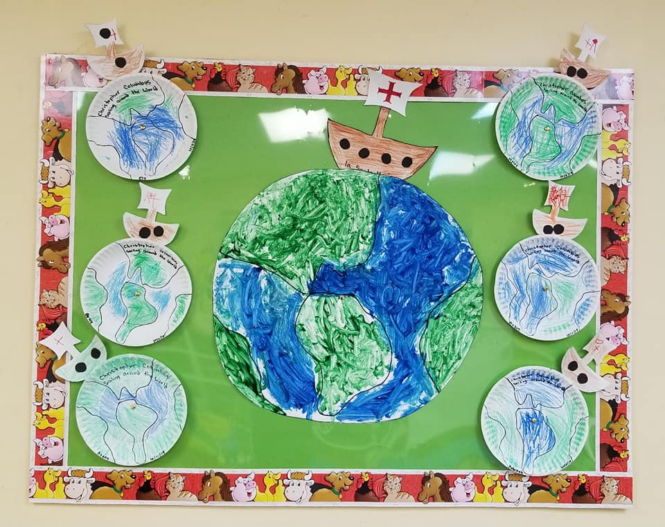 Christopher Columbus Sailing Around the World Craft!