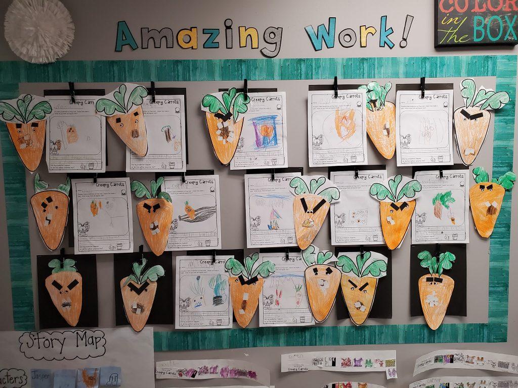 """Creepy Carrots,"" Lesson Plan Ideas"