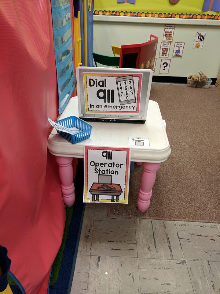 Fire Extinguisher Craft for Preschoolers