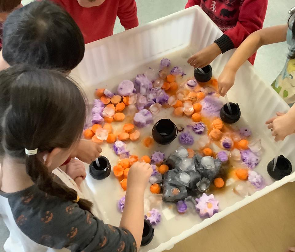 Halloween Science Experiment and Activity
