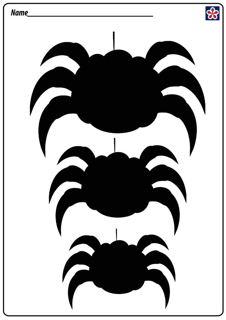 Halloween Silhouette Spider