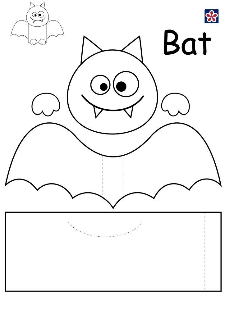 Bat Craft Template