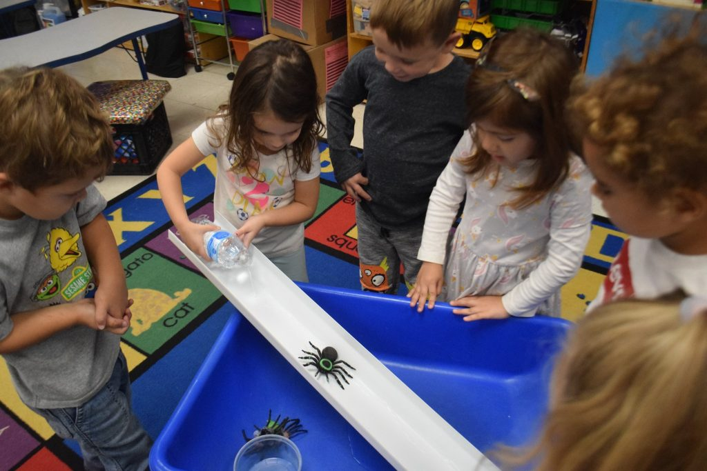 Itsy Bitsy Spider Water-Play Activity
