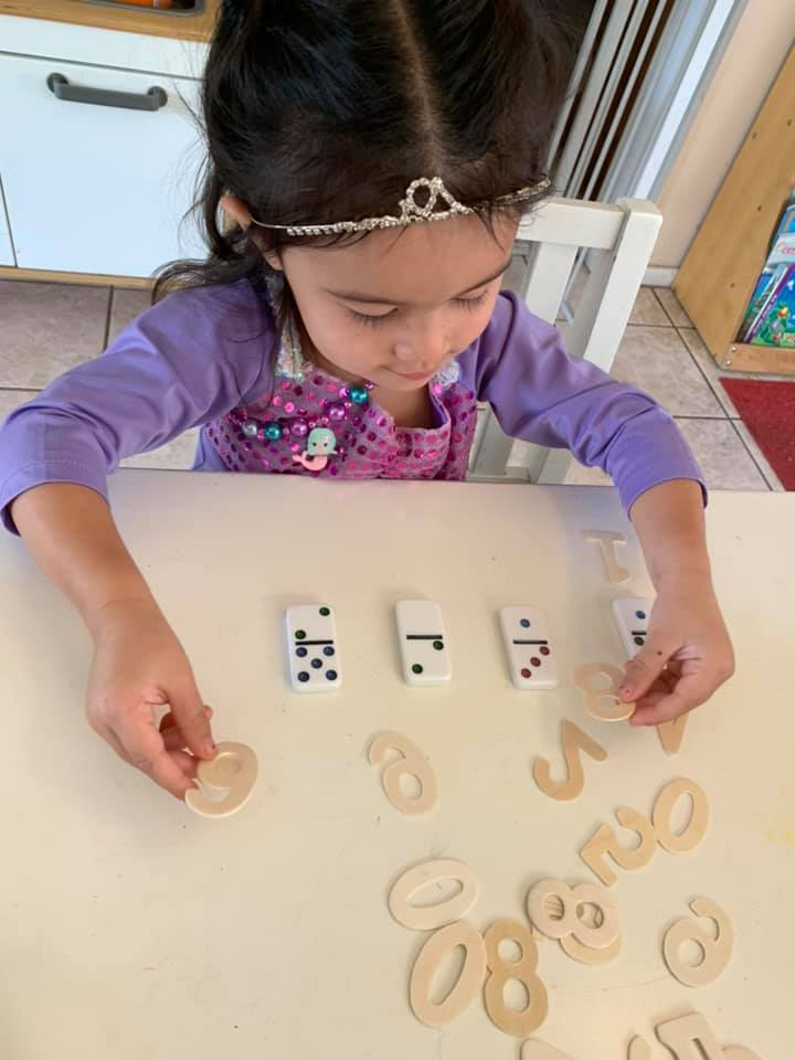 Domino Math Activity for Preschoolers