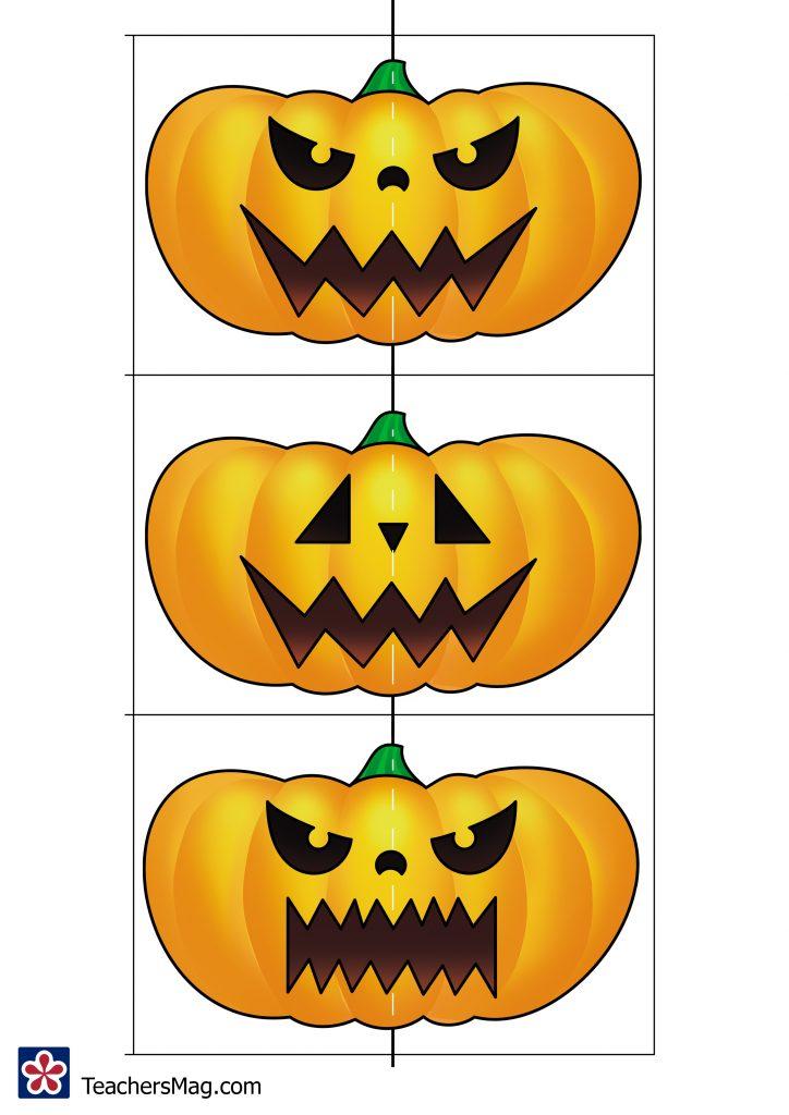 Pumpkin Face Matching