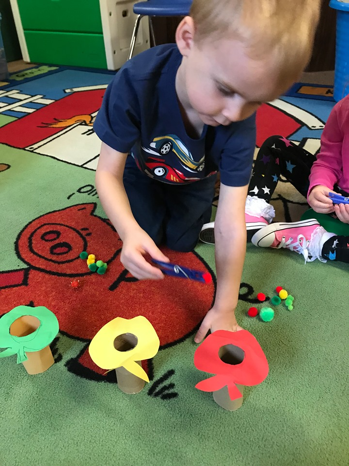 Apple Color Sorting Activity