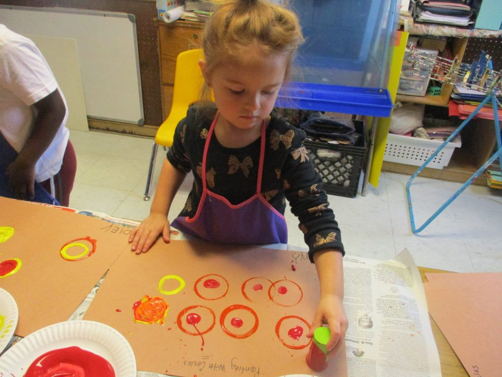 Painting With Circles