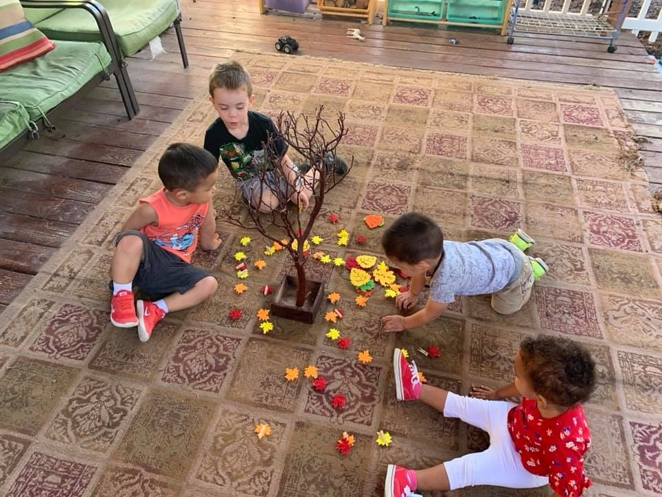Fall Tree Clothespin Activity