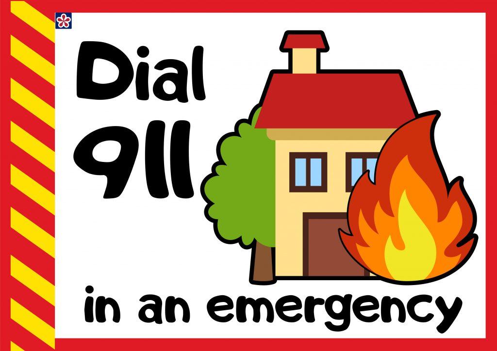 Dial 911 In an Emergency