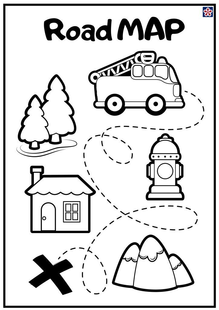 Road-map Printables