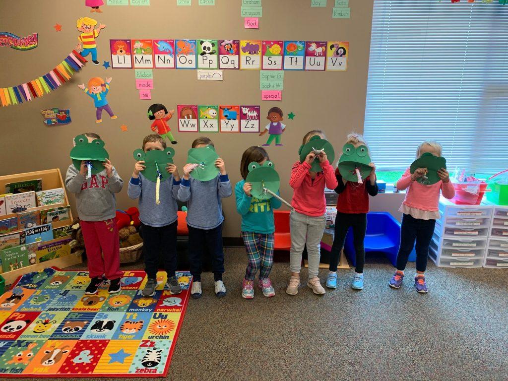 Frogs Activities for Preschoolers