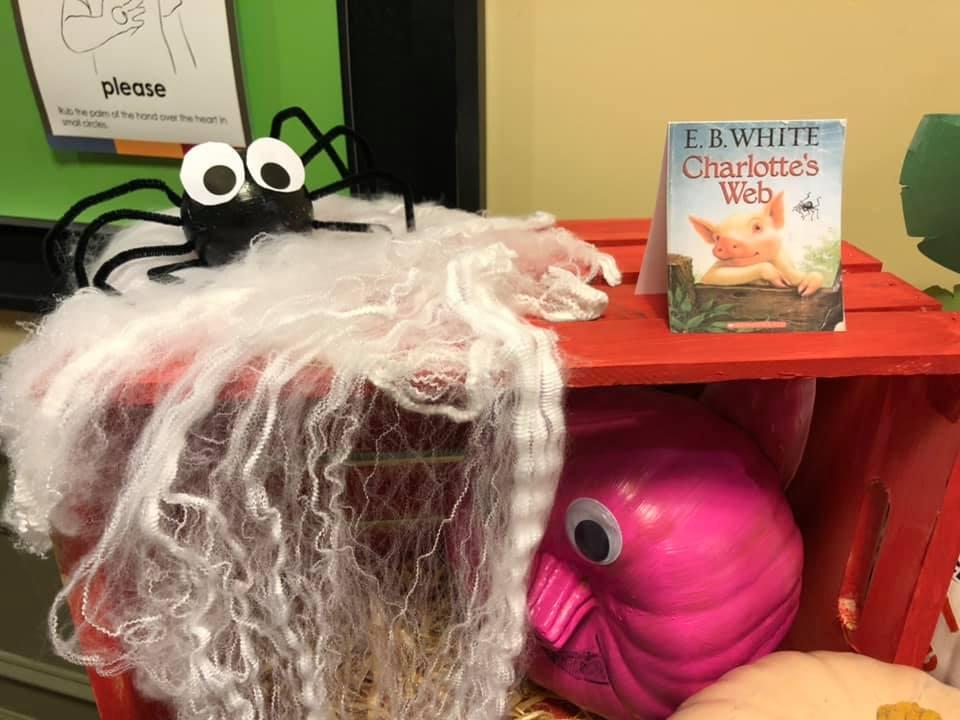 Book Character Pumpkin Decorating Contest