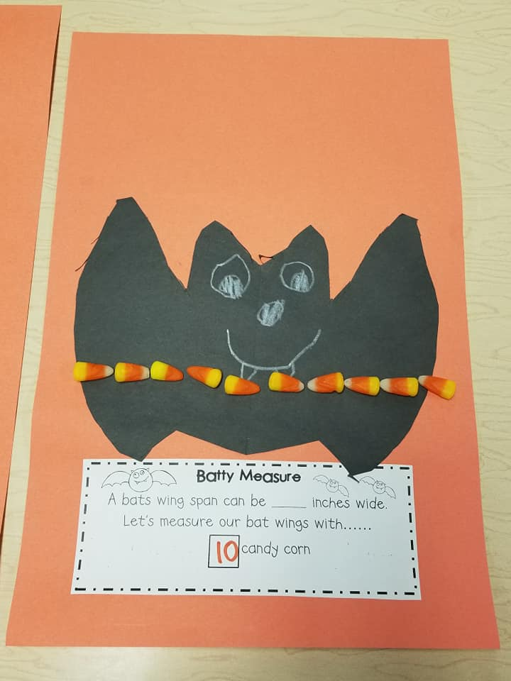 Candy Corn Measuring Activity