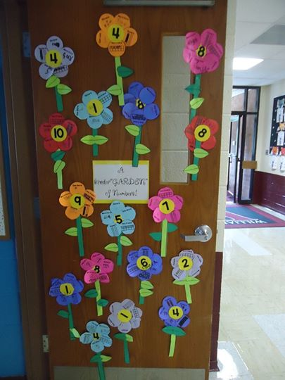 Flower Number Matching Activity