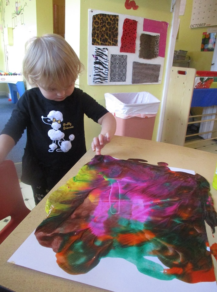 Very Simple Abstract Painting for Kids
