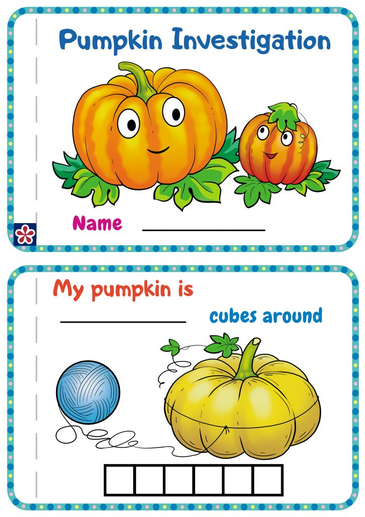 Pumpkin Investigation Book