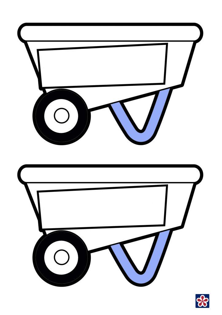 Free Wheelbarrow Printable