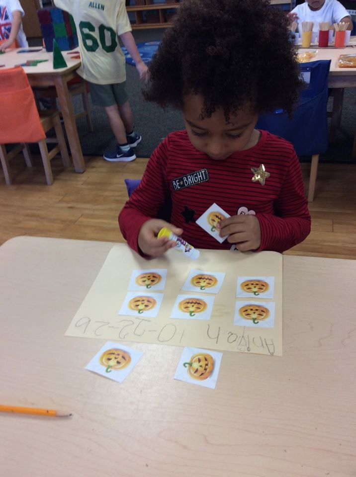 Halloween Pumpkin Pattern Activities