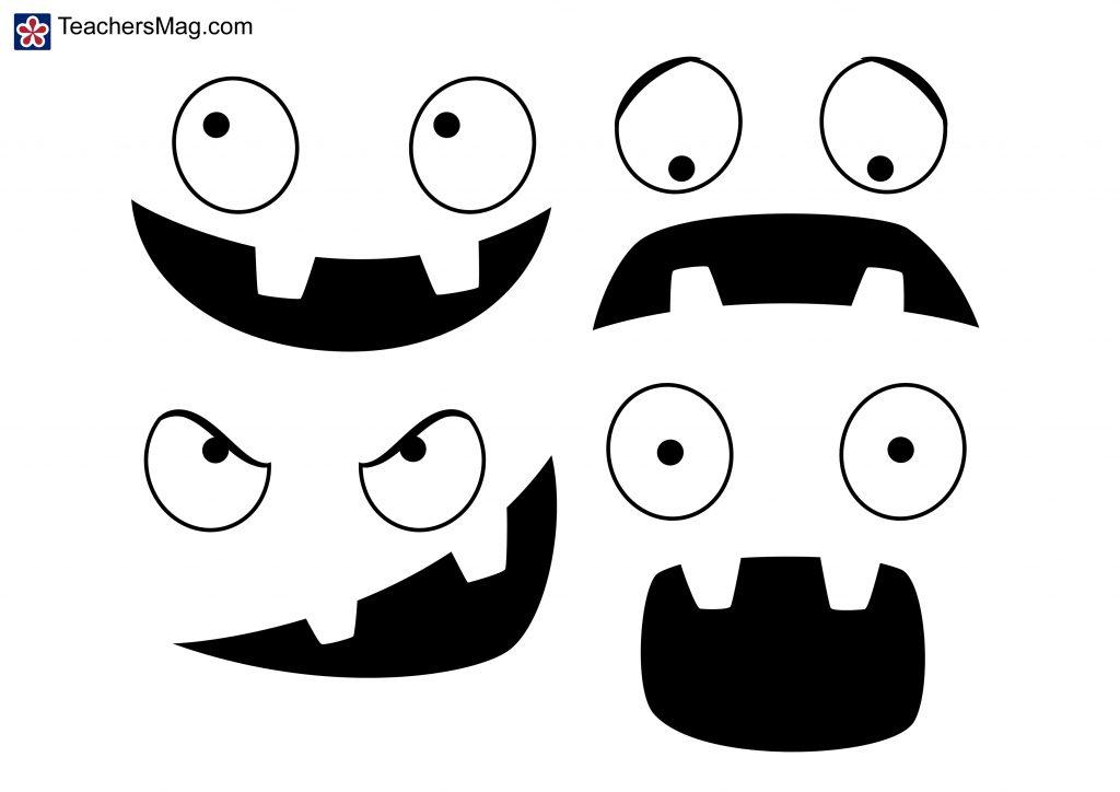 Pumpkin-Face Templates