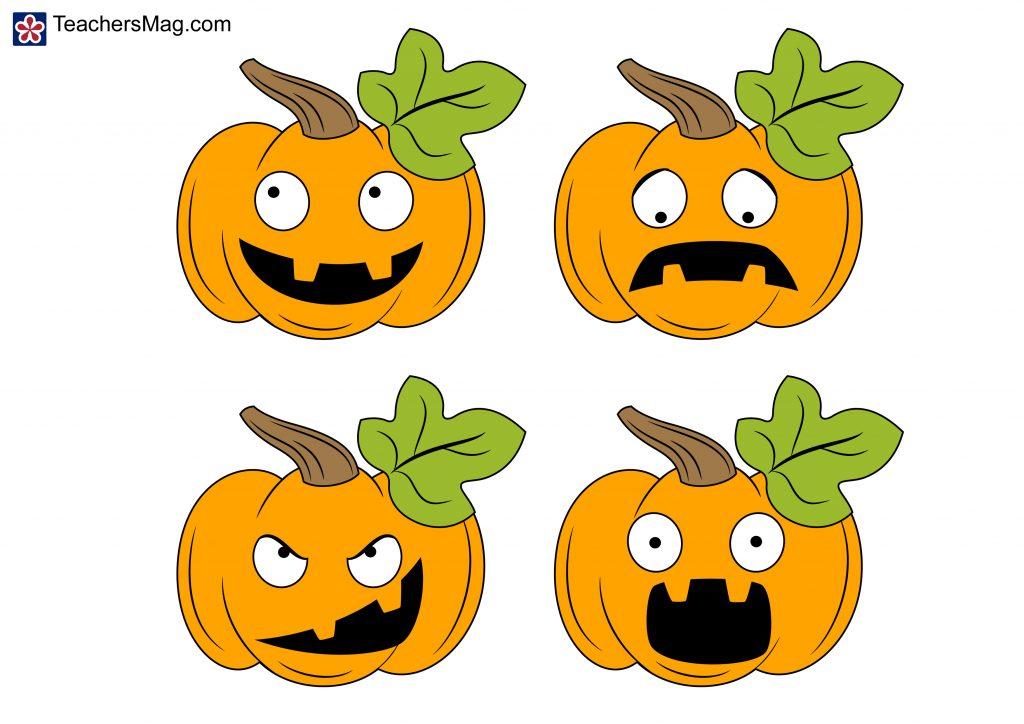 Pumpkin Emotions Activity