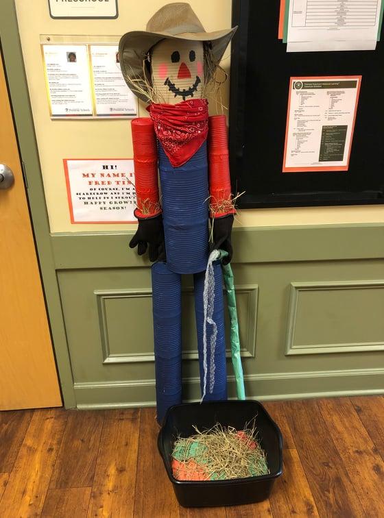 Fred Tin the Scarecrow