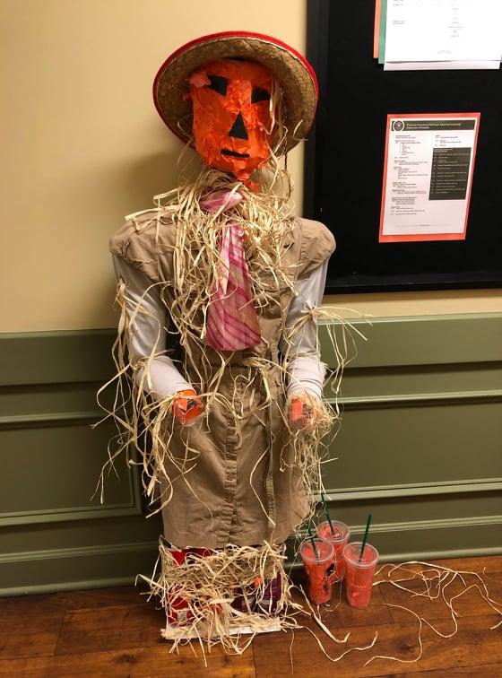 Scared E. Ann the Scarecrow