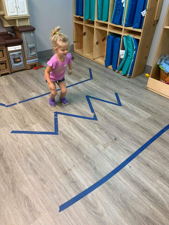 Fun Activities With Tape for Toddlers
