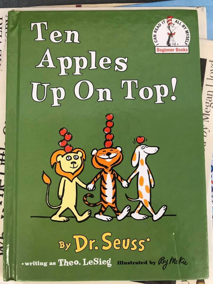 """Ten Apples Up On Top!"" Balance Activity"