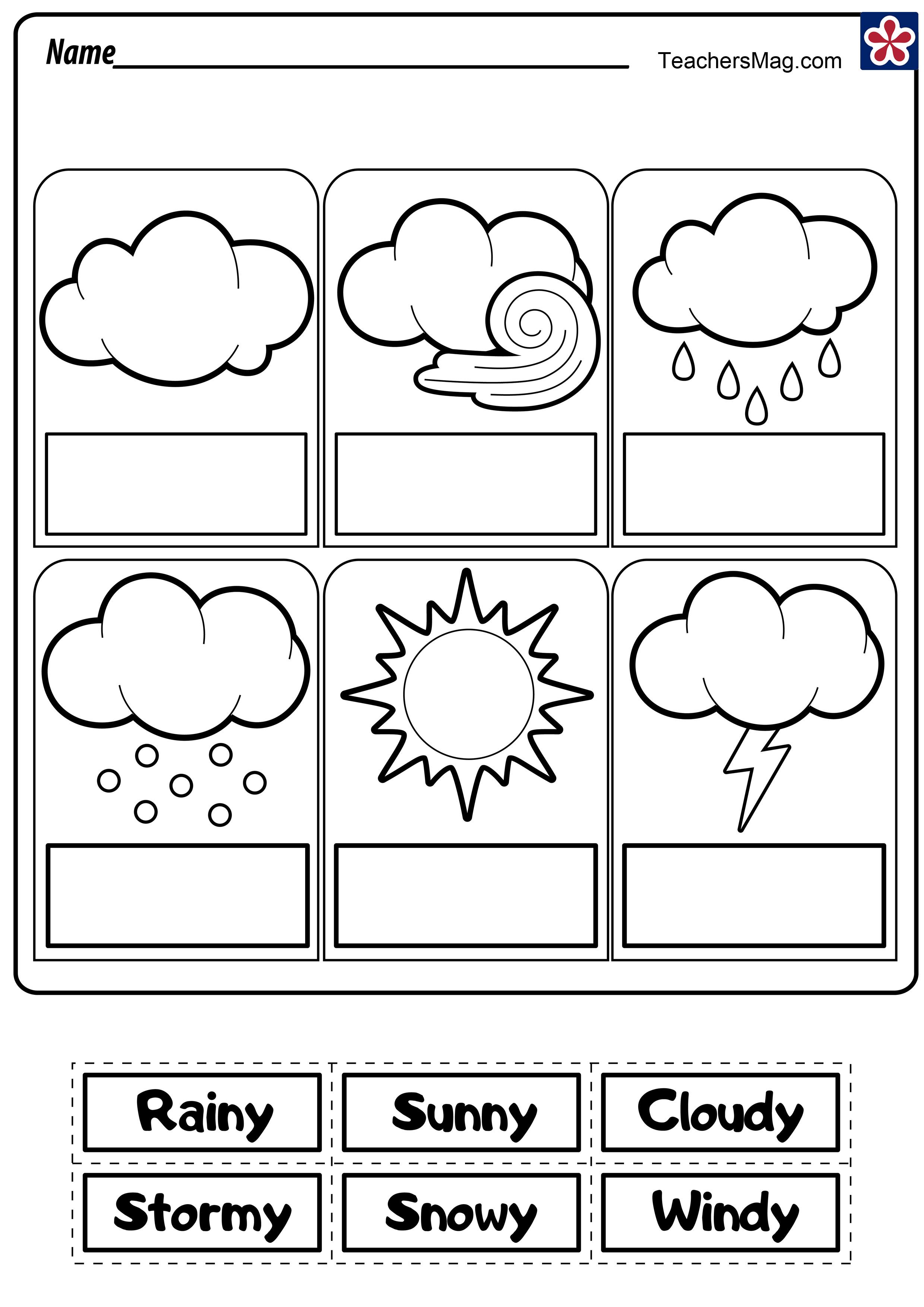 Weather Worksheets   TeachersMag.com