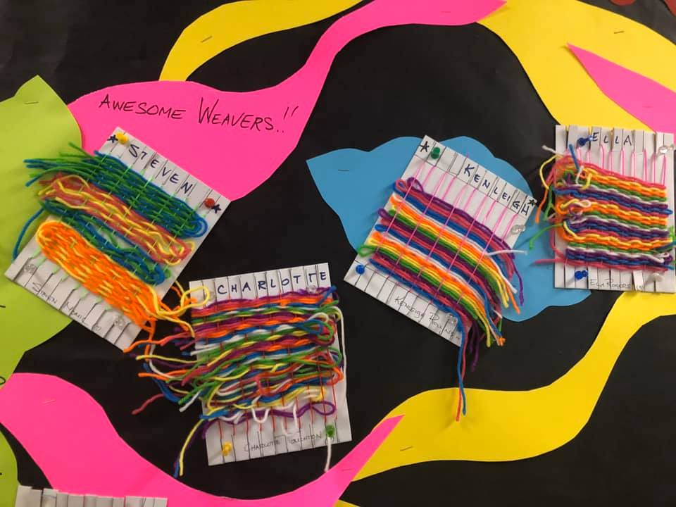 Weaving Activities for Elementary Students