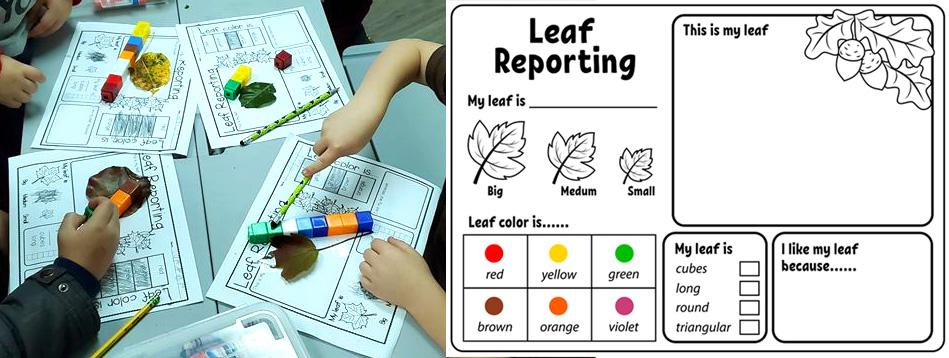 Free Printable Leaf Reporting Worksheet