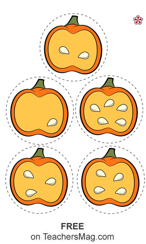 Pumpkin Number Match Game