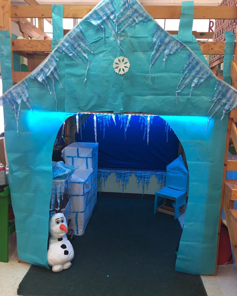 Frozen Inspired Dramatic Play