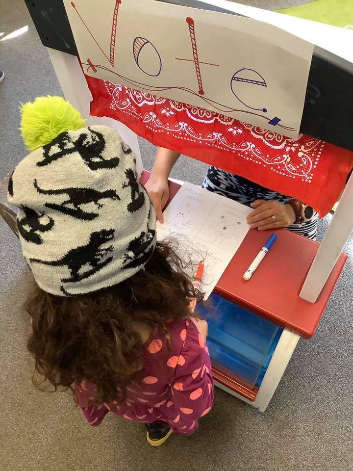 Election Day Preschool Voting Activity