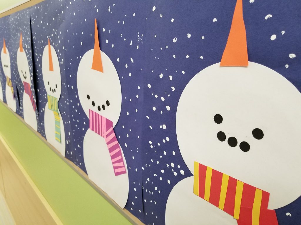 Snowman and Snowwoman Paper Craft