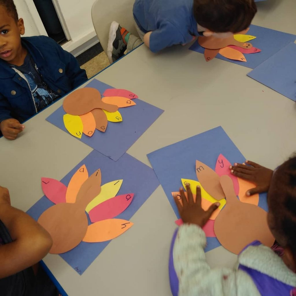Turkey-Themed Name Activity