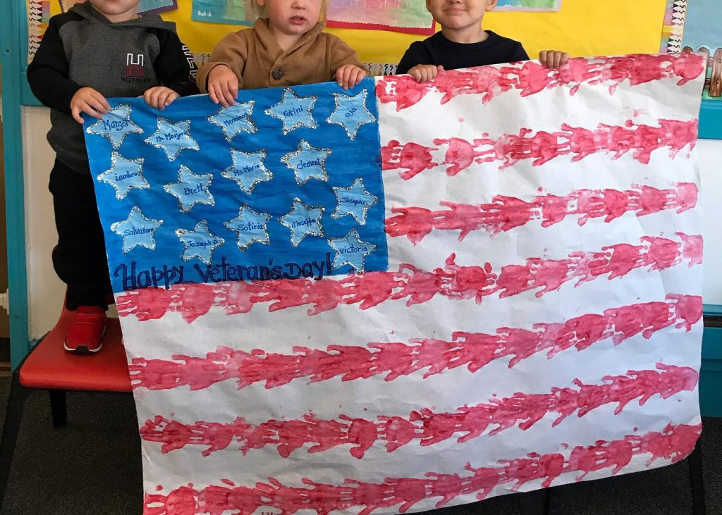 Veterans Day Arts and Crafts for Preschoolers