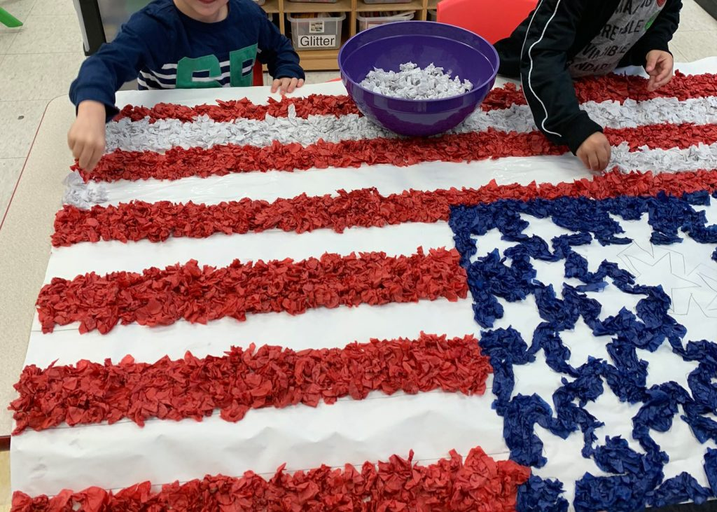 American Flag Crafts For Kids