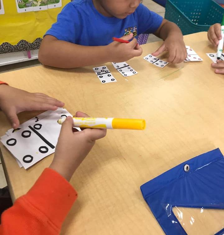 Domino Activities for Preschoolers