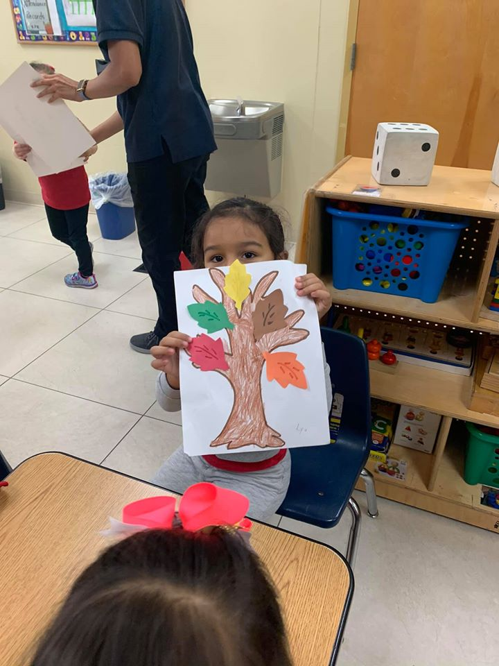 Fall Tree Craft for Preschoolers