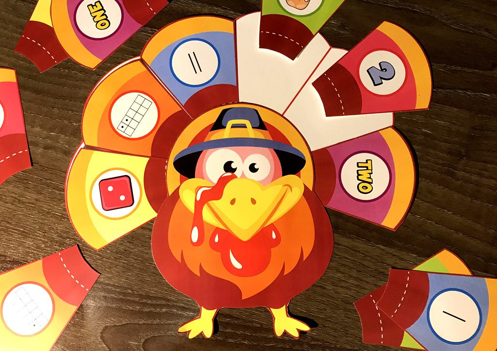 Turkey Math Activity