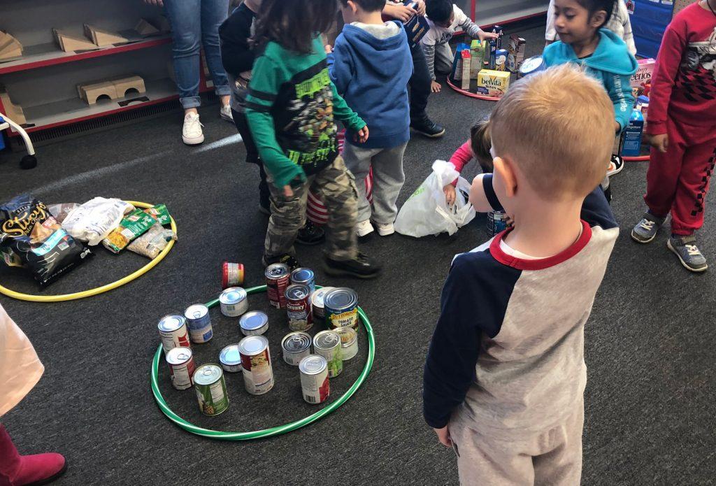 Preschool Food Sorting Activities