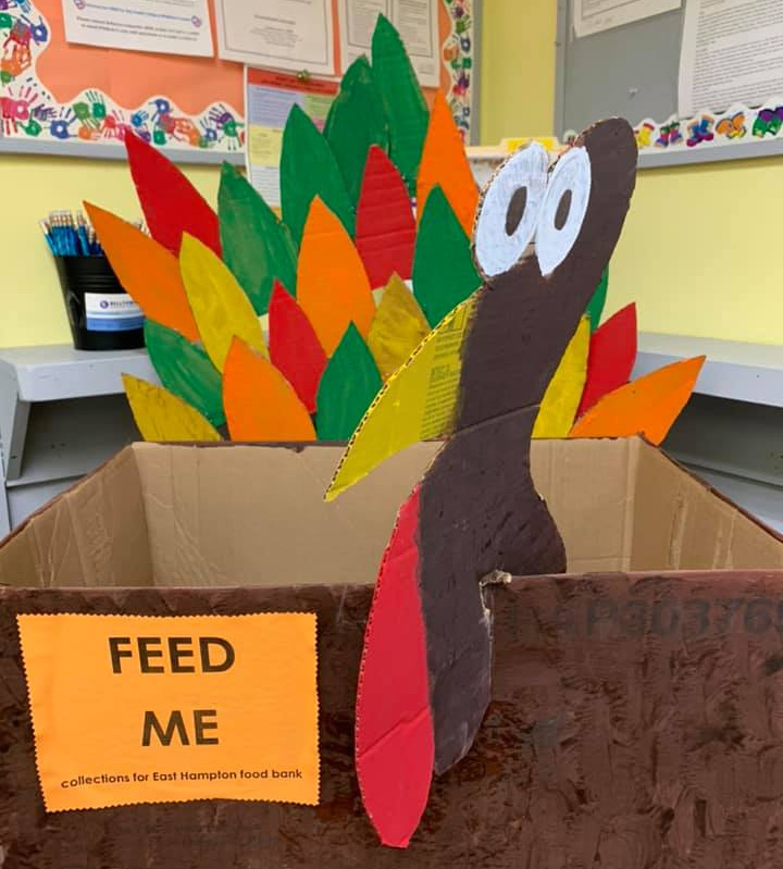 Turkey Food Drive Box