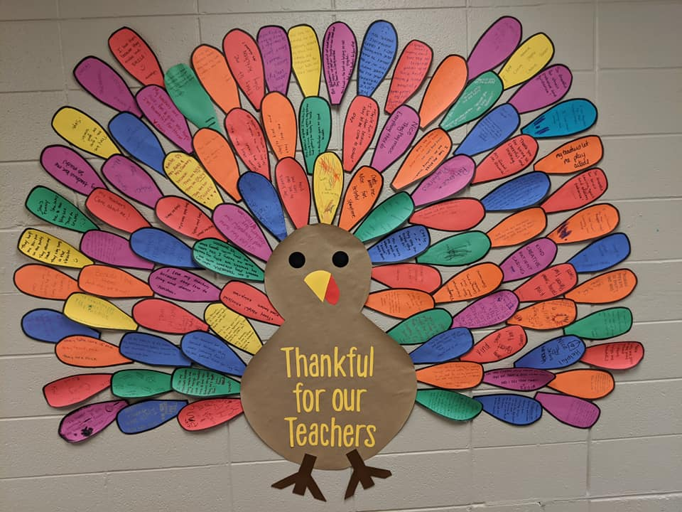 Thankful for Our Teachers!