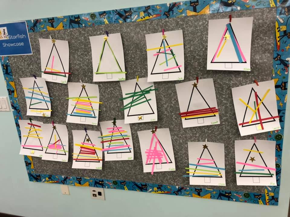 Paper Strips Christmas Tree Crafts