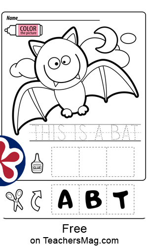 Bat Worksheets