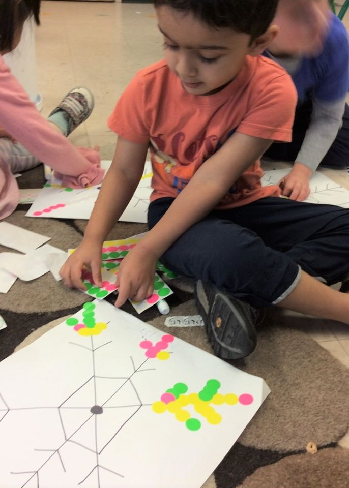 Fine Motor Skill-Developing Giant Snowflake Activity for Preschoolers