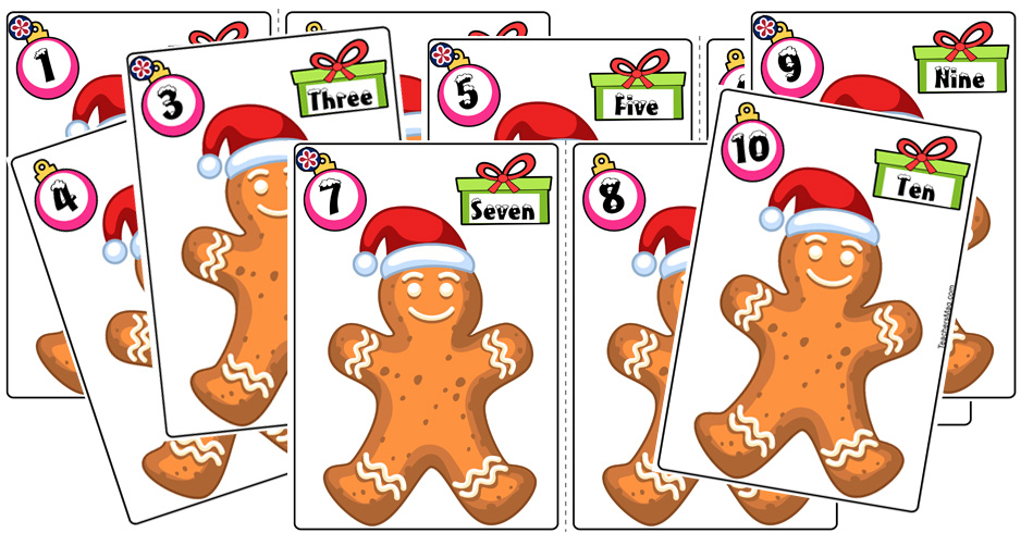 Gingerbread-Themed Math Activity