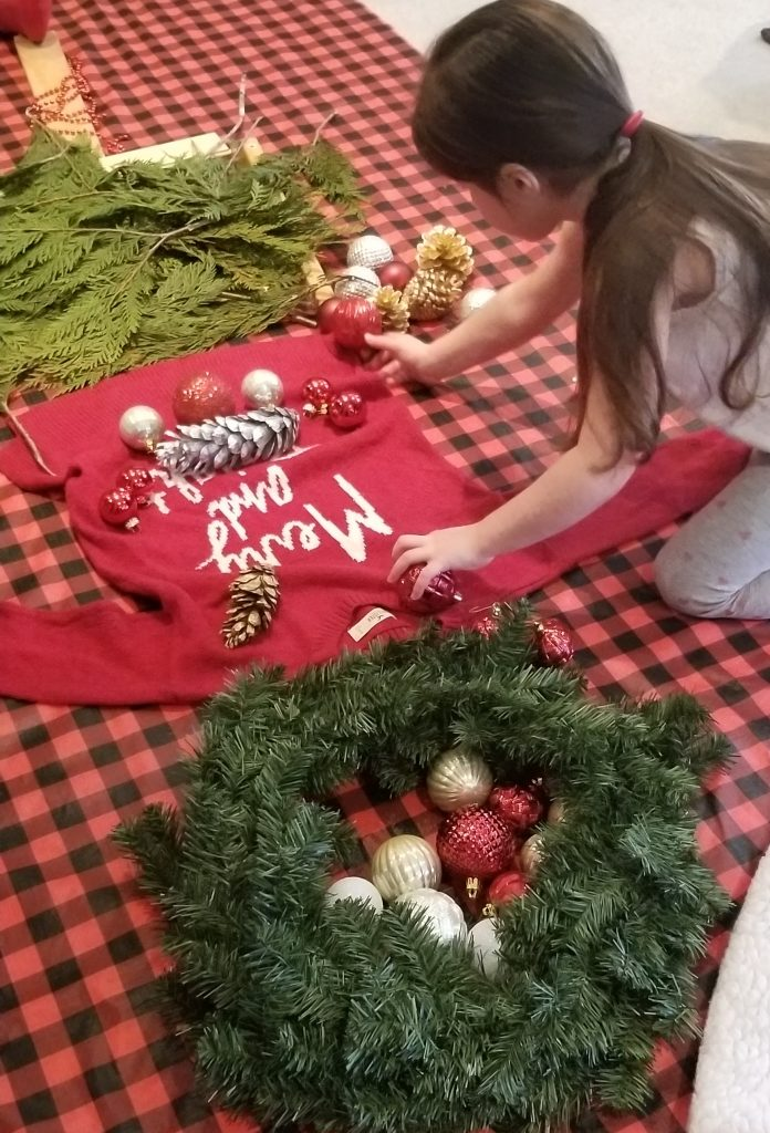 Grinch Tree and Dress Me Up Play Invitation