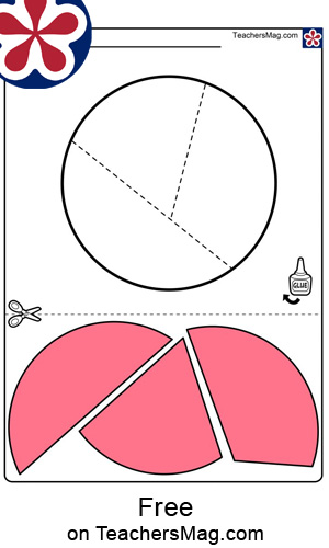 Shapes-Within-Shapes Sorting Puzzle Worksheet